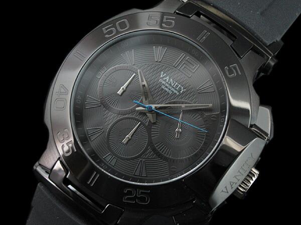 VANITY バニティー 腕時計 メンズ クロノグラフ VA001-1