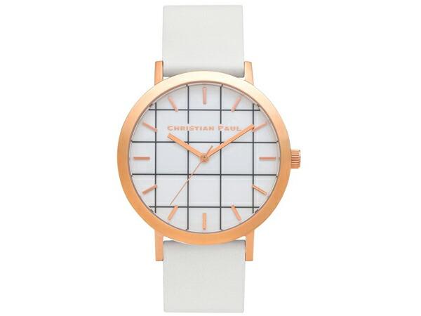 Christian Paul クリスチャンポール 腕時計 グリッド レディース ユニセックス 43mm GR-03-1