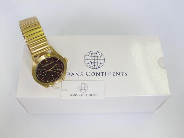 トランスコンチネンツ TRANS CONTINENTS 腕時計 レディース ボーイズ TC-BD-003-2