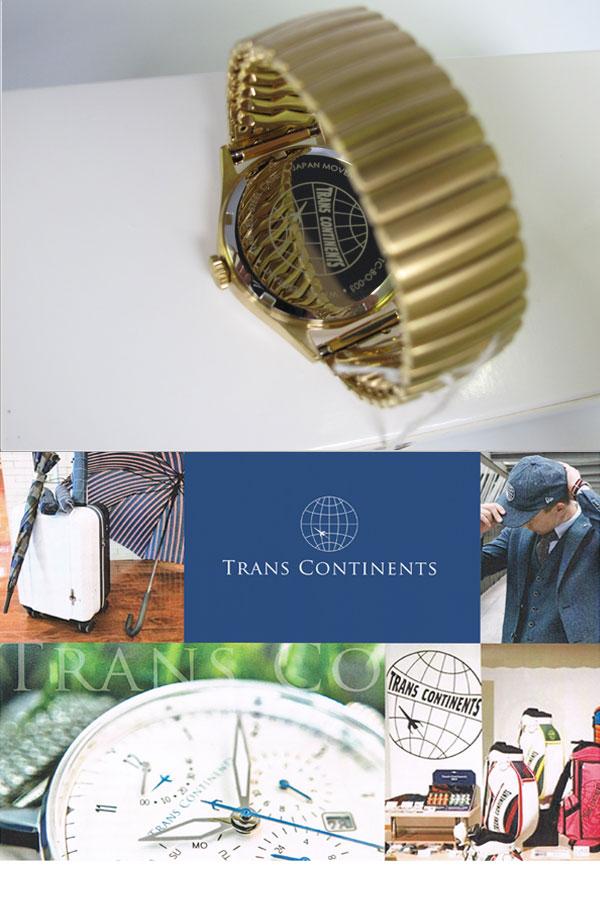 トランスコンチネンツ TRANS CONTINENTS 腕時計 レディース ボーイズ TC-BD-003-3