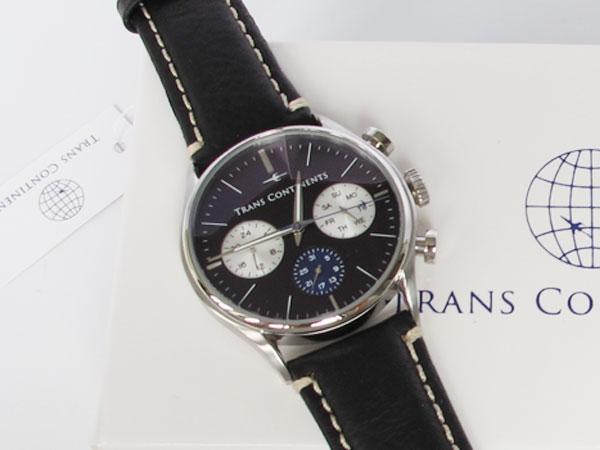 トランスコンチネンツ TRANS CONTINENTS 腕時計 メンズ 40mm TC-HE-004-1