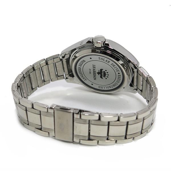 约翰· 哈里森太阳射电手表男式手表 jh 086sb 青铜色 / 银