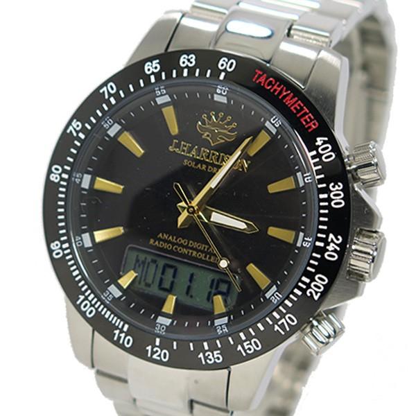约翰· 哈里森太阳射电手表男式手表 jh-094 gb 青铜色和金色