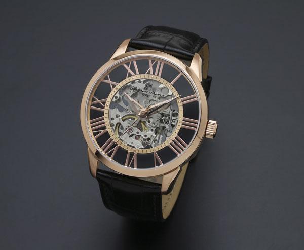 サルバトーレマーラ 手巻き メンズ 腕時計 SM16101-PGBK-1
