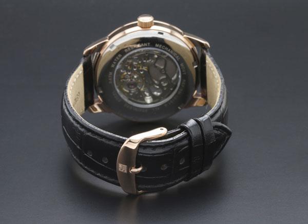 サルバトーレマーラ 手巻き メンズ 腕時計 SM16101-PGBK-3