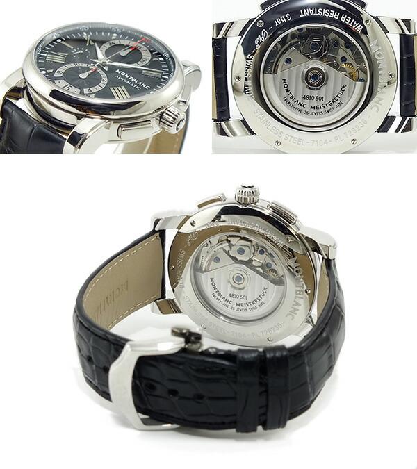 モンブラン MONTBLANC スター STAR 自動巻き 腕時計 102377 ブラック-3