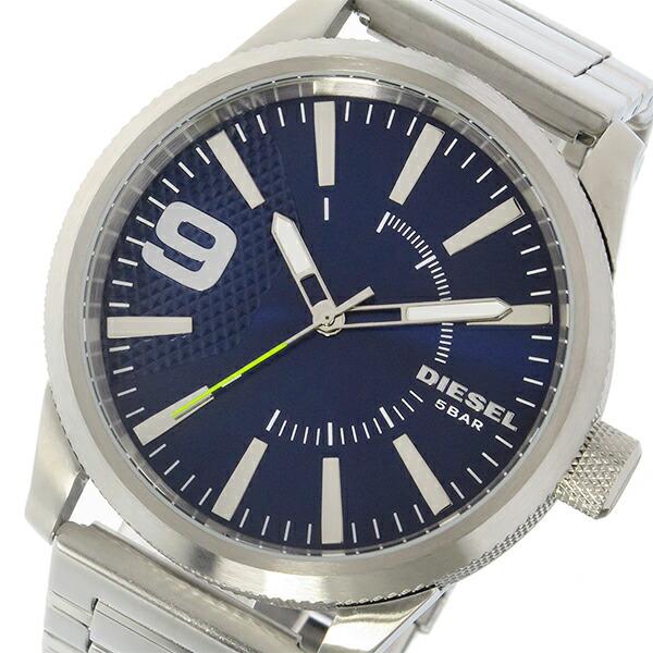 ディーゼル DIESEL ラスプ Rasp クオーツ メンズ 腕時計 DZ1763 ネイビー-1