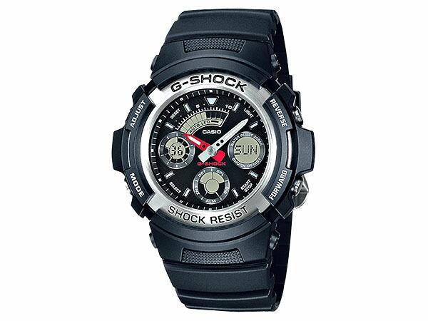カシオ Gショック G-SHOCK アナデジ メンズ 腕時計 AW-590-1AJF 国内正規品-1