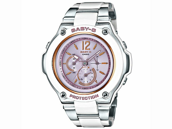カシオ Baby-G ベビーG 電波ソーラー レディース 腕時計 BGA-1400CA-7B2JF 国内正規品-1