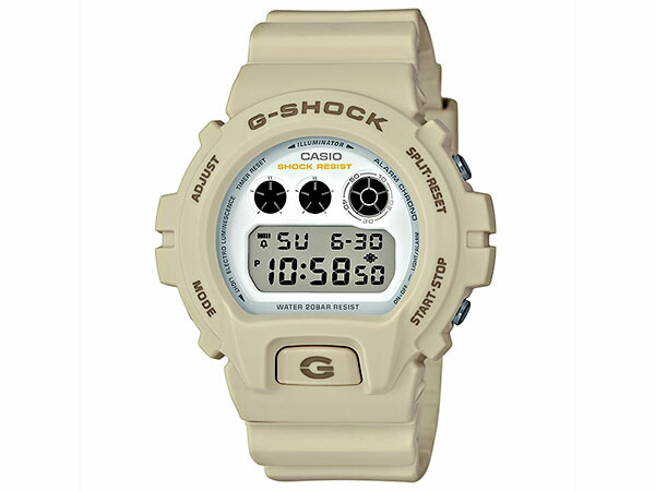 カシオ Gショック G-SHOCK ミリタリーカラー メンズ 腕時計 DW-6900EW-7JF 国内正規品-1