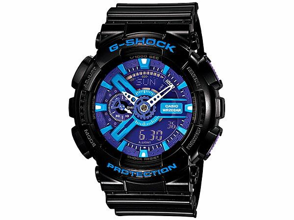 カシオ Gショック G-SHOCK ハイパーカラーズ メンズ 腕時計 GA-110HC-1AJF 国内正規品-1