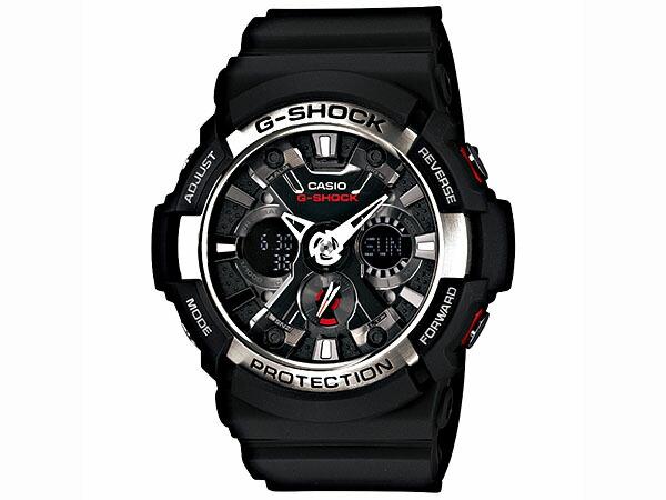 カシオ Gショック G-SHOCK ビッグケース メンズ 腕時計 GA-200-1AJF 国内正規品-1