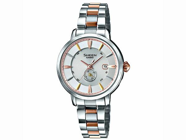 カシオ CASIO 電波ソーラー レディース 腕時計 SHW-1800BSG-7AJF 国内正規品-1