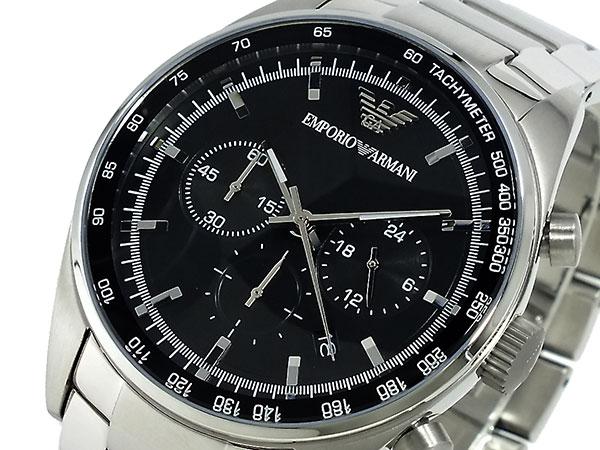 エンポリオ アルマーニ EMPORIO ARMANI クロノグラフ 腕時計 AR5980-1