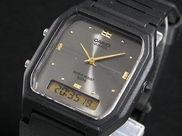 カシオ CASIO アナデジ 腕時計 AW48HE-8A-1