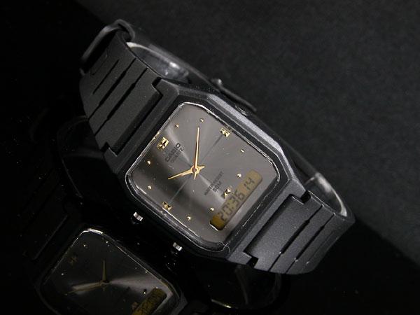 カシオ CASIO アナデジ 腕時計 AW48HE-8A-2