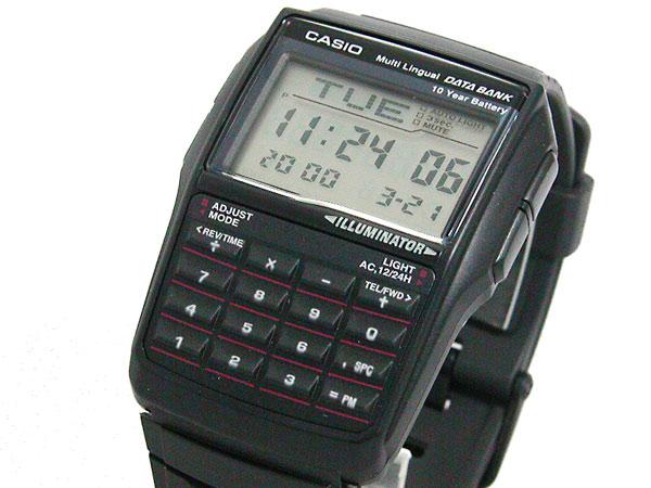 カシオ CASIO データバンク DATA BANK 腕時計 DBC32-1A-1