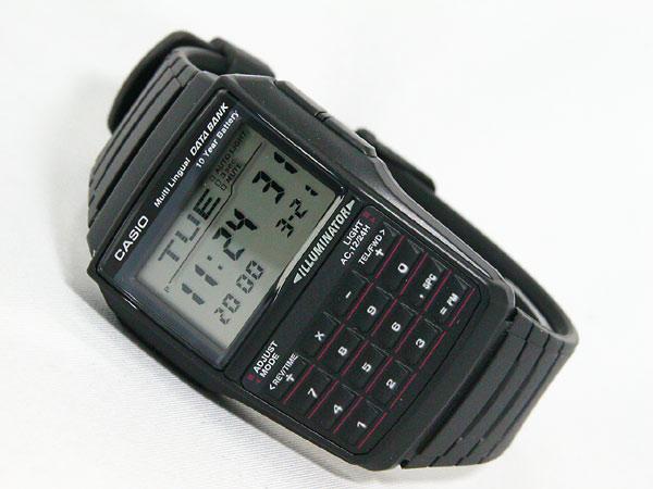 カシオ CASIO データバンク DATA BANK 腕時計 DBC32-1A-2