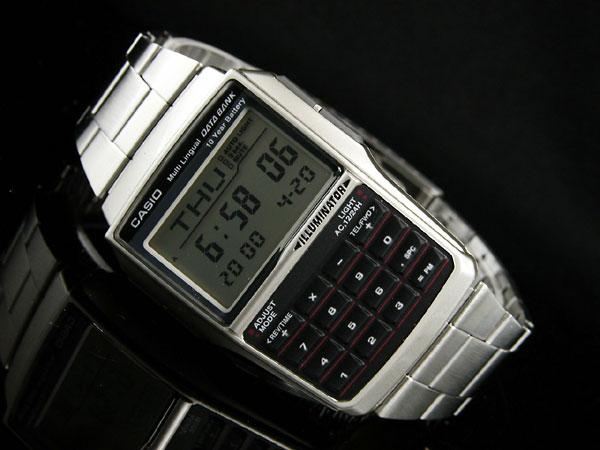 カシオ CASIO データバンク DATA BANK 腕時計 DBC32D-1-2