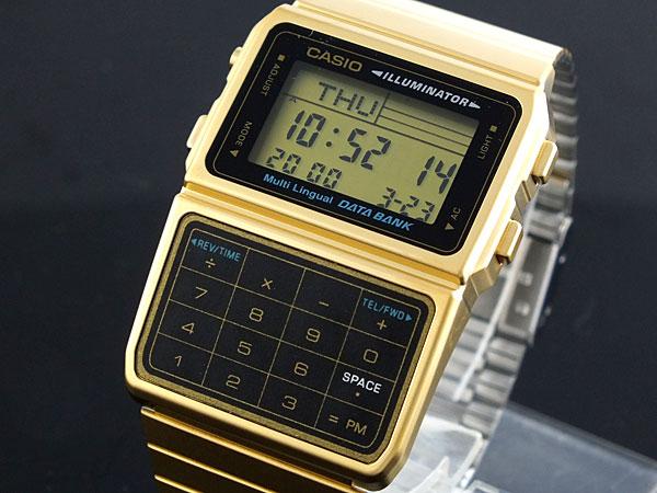 カシオ CASIO データバンク DATA BANK 腕時計 DBC611G-1-1