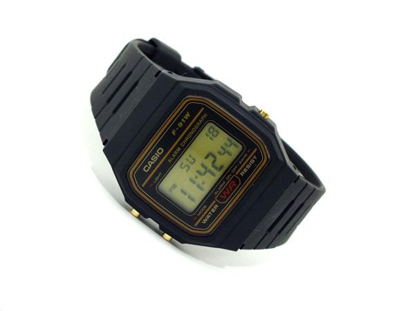 カシオ CASIO スタンダード デジタルクォーツ 腕時計 F-91WG-9-2