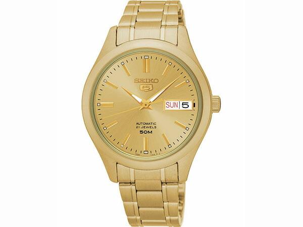 SEIKO 5 セイコー5 逆輸入 日本製 レディース 自動巻き 腕時計 SNK876J1-1