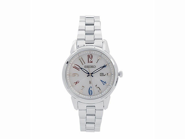 SEIKO セイコー 逆輸入 ソーラー レディース 腕時計 SUT295J1-1