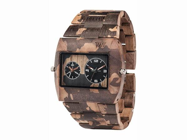 WEWOOD ウィーウッド 腕時計 メンズ JUPITER NATURAL CAMO 木製-1