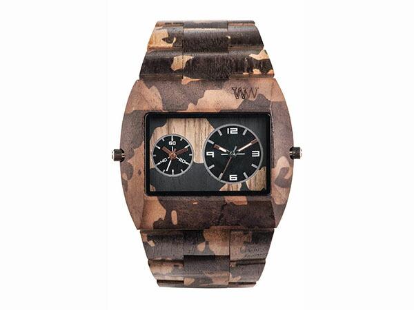 WEWOOD ウィーウッド 腕時計 メンズ JUPITER NATURAL CAMO 木製-2