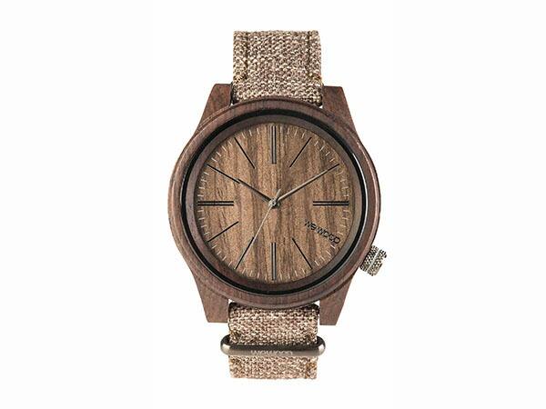 WEWOOD ウィーウッド 腕時計 メンズ レディース TORPEDO CHOCO LINEN 木製-2