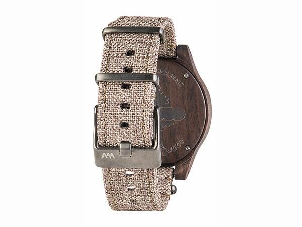 WEWOOD ウィーウッド 腕時計 メンズ レディース TORPEDO CHOCO LINEN 木製-3
