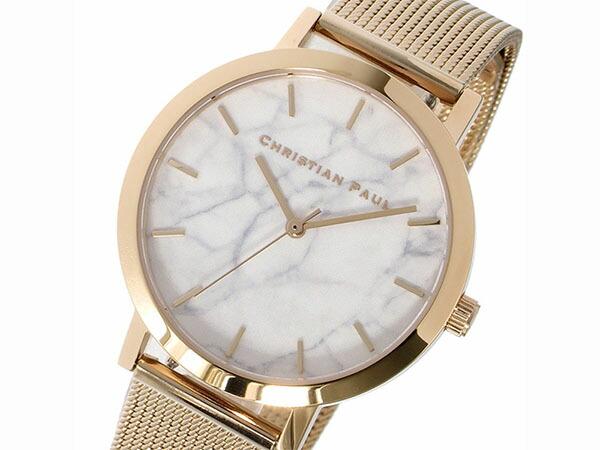 Christian Paul クリスチャンポール 腕時計 マーブル レディース 35mm MRML-02-1