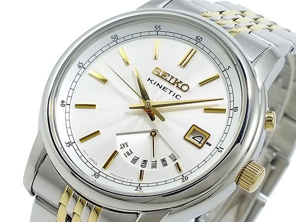 セイコー SEIKO キネティック KINETIC 腕時計 SRN031P1-1