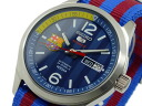 Seiko five SEIKO 5 sports FC Barcelona self-winding watch SRP303J1