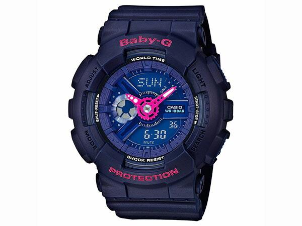 カシオ CASIO ベビーG BABY-G 逆輸入 アナデジ レディース 腕時計 BA-110PP-2A-1