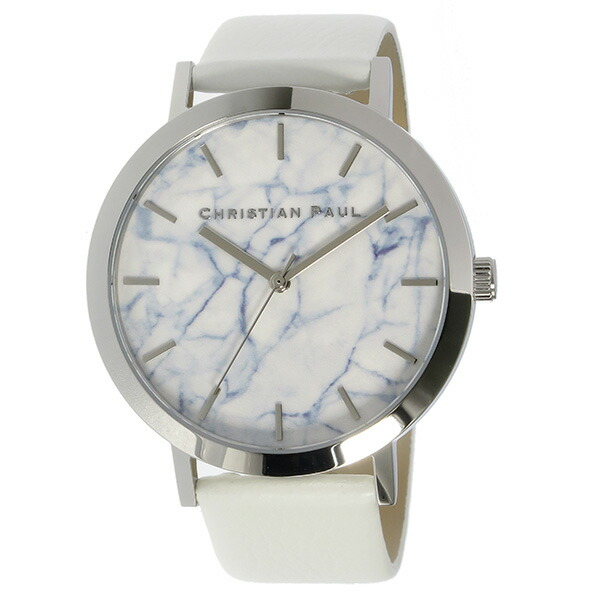 Christian Paul クリスチャンポール 腕時計 マーブル レディース ユニセックス 43mm MR-08-2
