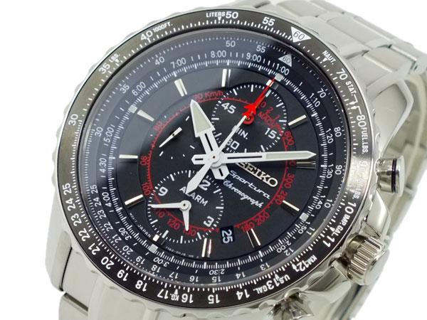 セイコー SEIKO スポーチュラ クロノグラフ 腕時計 SNAE99P1-1