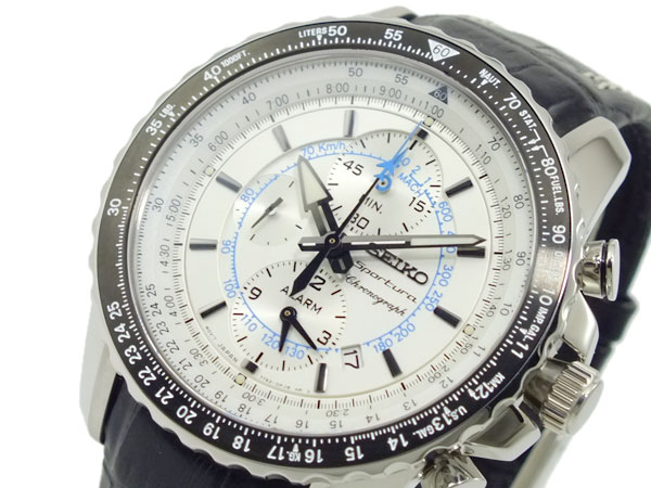 セイコー SEIKO スポーチュラ クロノグラフ 腕時計 SNAF01P1-1