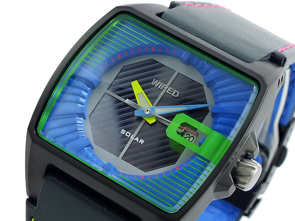 セイコー SEIKO ワイアード WIRED ソーラー 腕時計 AGAD013-1