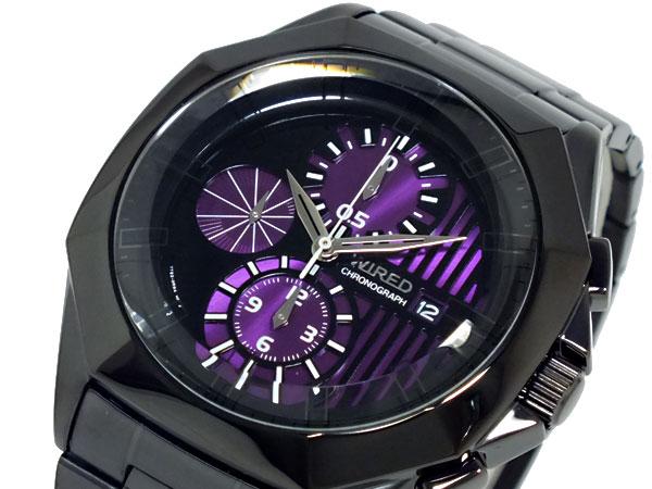 セイコー SEIKO ワイアード WIRED TWO FACE 腕時計 AGAV062-1