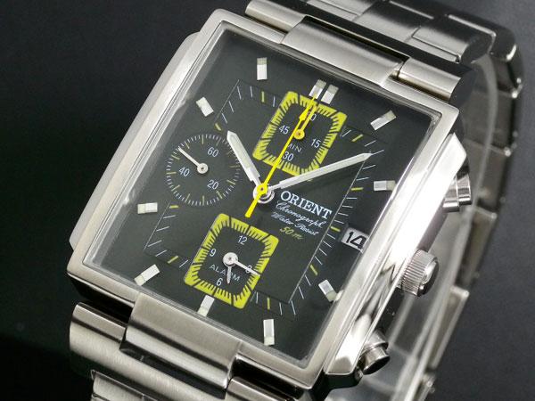 オリエント ORIENT アラーム クロノ 腕時計 CTDAB001F-1