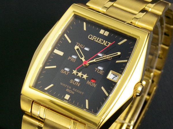オリエント ORIENT サイクルカレンダー 自動巻き 腕時計 URL001PM-1