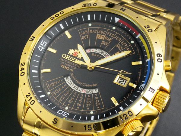 オリエント ORIENT 万年カレンダー 自動巻き 腕時計 URL005EU-1