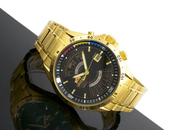 オリエント ORIENT 万年カレンダー 自動巻き 腕時計 URL005EU-2