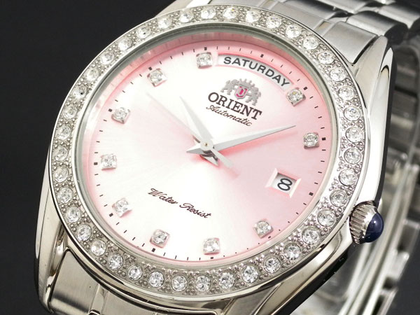 オリエント ORIENT デイデイト 自動巻き 腕時計 URL007EV-1