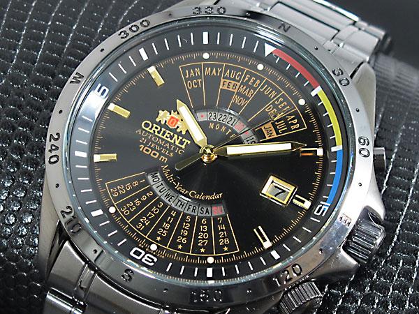 オリエント ORIENT 万年カレンダー 自動巻き 腕時計 URL010EU-1