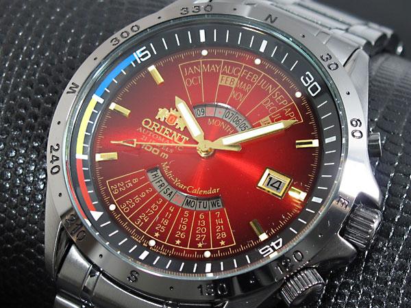 オリエント ORIENT 万年カレンダー 自動巻き 腕時計 URL011EU-1