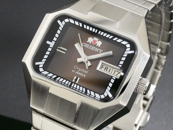 オリエント ORIENT 復刻モデル 自動巻き 腕時計 URL027EM-1
