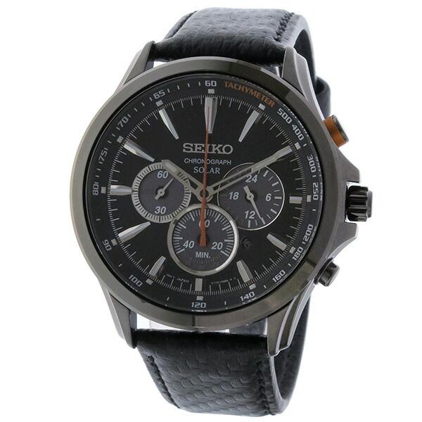 セイコー SEIKO 逆輸入 ソーラー クロノグラフ 腕時計 SSC499P1-2