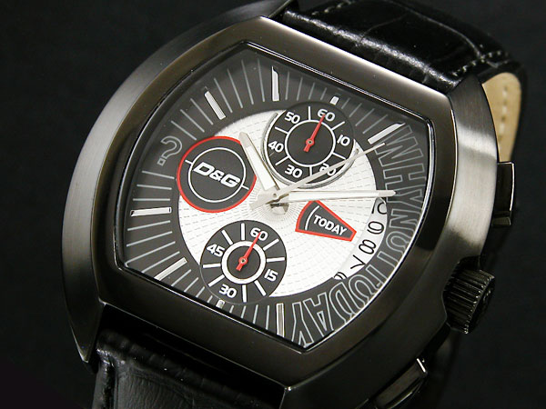 ドルチェ&ガッバーナ D&G ハイセキュリティ クロノグラフ 腕時計 DW0214-1